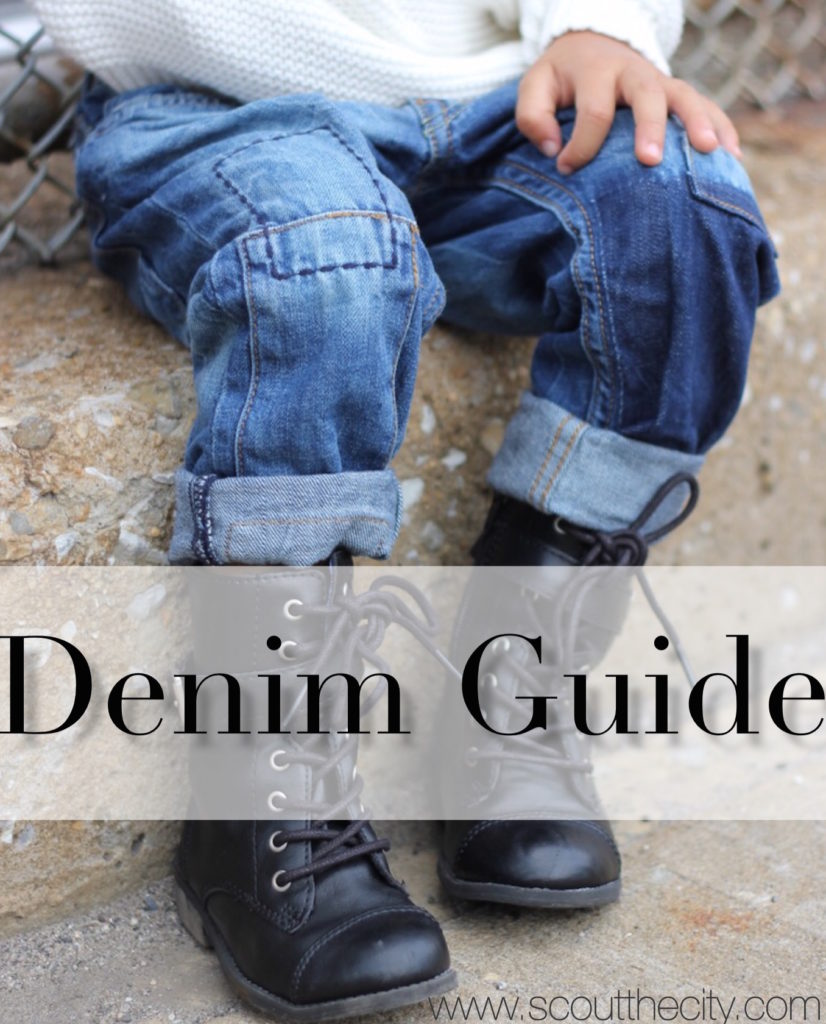 The ultimate denim guide for children's of all ages.