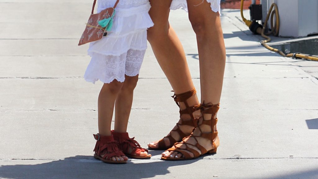 Mommy and Me sandals under $100