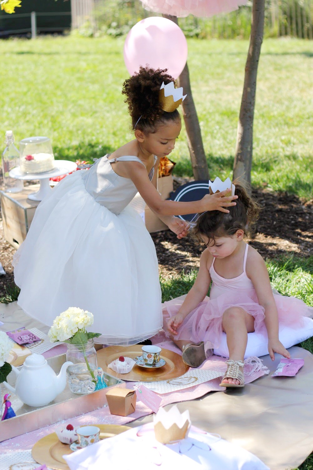 how to throw a princess tea party