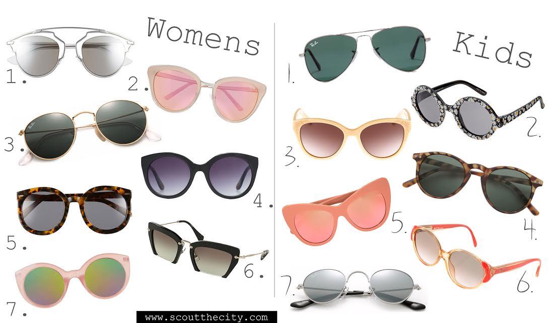 7 sunglasses for Mom and Mini