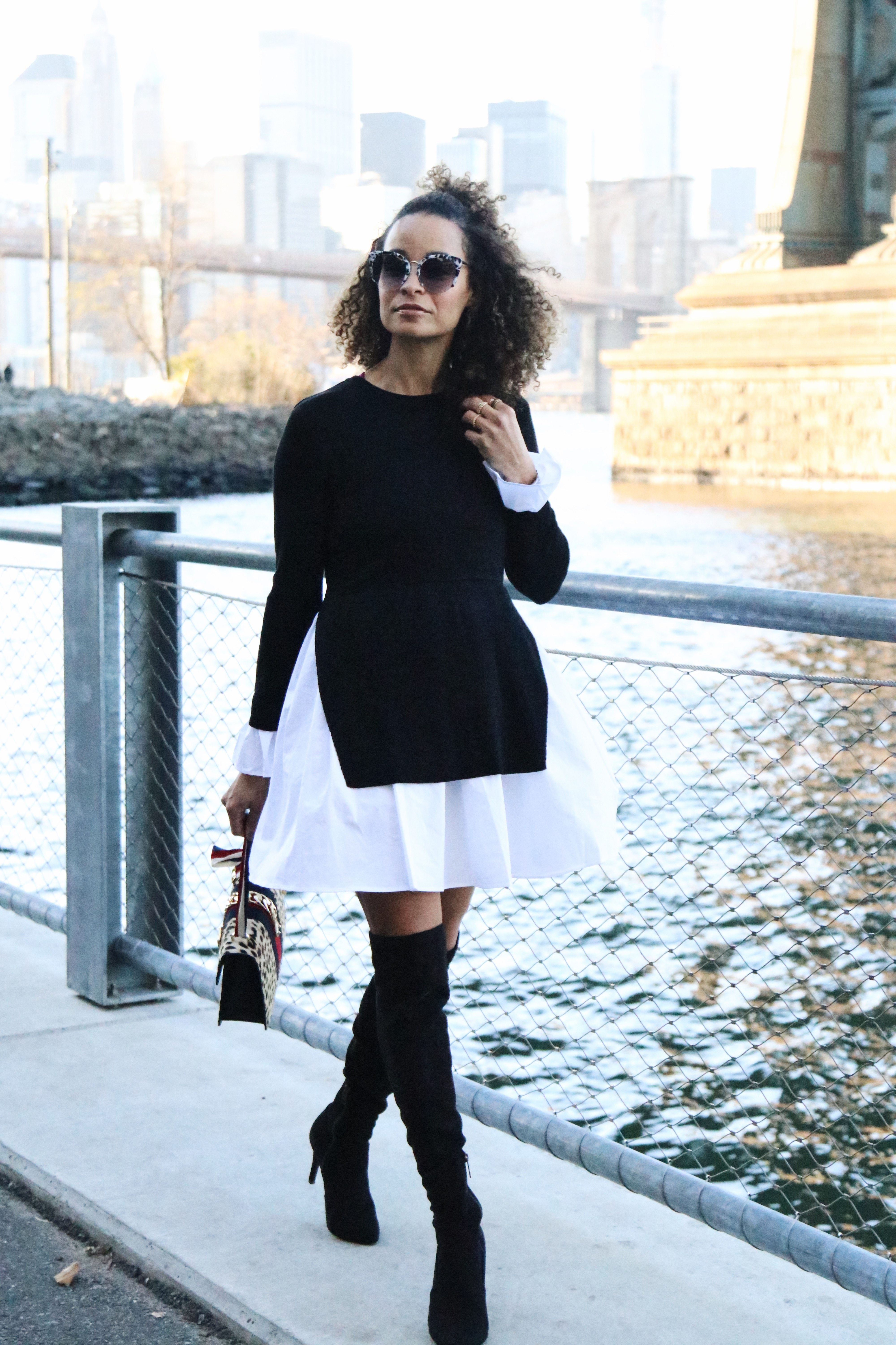 e679f5a3197 OOTD  Styling a Shirt Dress for The Office - Scout The City