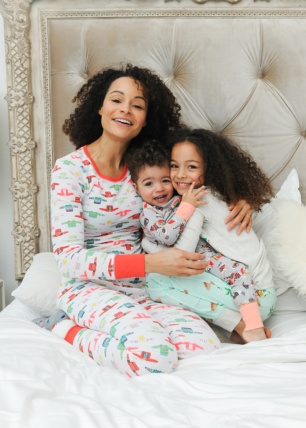 Old Navy Has You Ered For All Of Your Slumber Party Needs With 6 New Matching Pj Sets The Entire Family From Skiing Dogs Beach Santa
